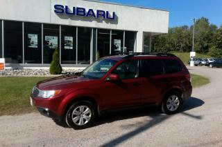 Used 2010 Subaru Forester X sport for sale in Minden, ON