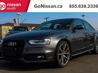 Used 2015 Audi S4 NAVIGATION, LEATHER, SUNROOF! for sale in Edmonton, AB