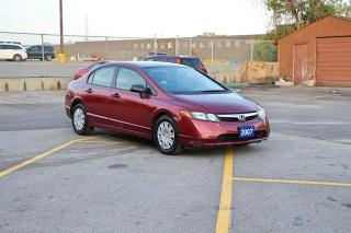 Used 2007 Honda Civic DX for sale in Brampton, ON