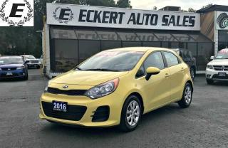 Used 2016 Kia Rio LX HATCHBACK /BLUETOOTH for sale in Barrie, ON