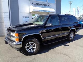 Used 1999 Chevrolet Tahoe LT 4x4, Leather, Only 90,441 Kms.!! for sale in Langley, BC