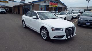 Used 2014 Audi A4 Komfort/NO ACCIDENT/BLUETOOTH/LEATHER/HEATED/$2099 for sale in Brampton, ON