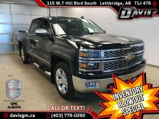 Used 2015 Chevrolet Silverado 1500 LTZ GFX-One Owner, Ultimate Package, Heated/Cooled Leather for sale in Lethbridge, AB