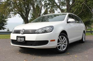 Used 2010 Volkswagen Golf Wagon Comfortline for sale in Oshawa, ON