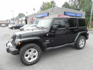 Used 2015 Jeep Wrangler Sahara * NAV * 2 TOPS * AUTOMATIC for sale in Windsor, ON
