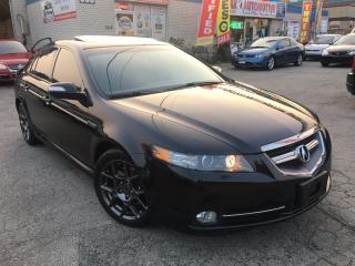 Used 2008 Acura TL Type-S  w/Navi_Backup Cam_Sunroof for sale in Oakville, ON