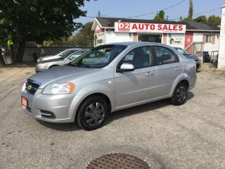 Used 2007 Chevrolet Aveo Automatic/Gas Saver/Certifed for sale in Scarborough, ON