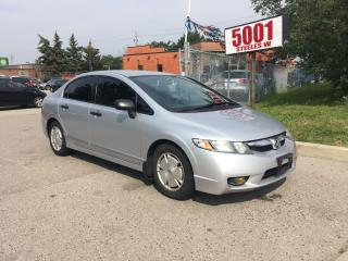 Used 2010 Honda Civic DX-G,AMAZING DRIVE,SAFETY+3YEARS WARRANTY INCLUDED for sale in North York, ON