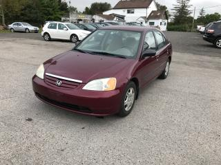 Used 2002 Honda Civic DX for sale in Komoka, ON