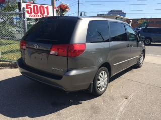 Used 2004 Toyota Sienna 8 PASSENGERS,SAFETY+3YEARS WARRANTY INCLUDED for sale in North York, ON