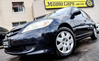 Used 2004 Honda Civic LX! CLEAN Autocheck+ONE Owner+Remote Start+USB/Aux for sale in St Catharines, ON