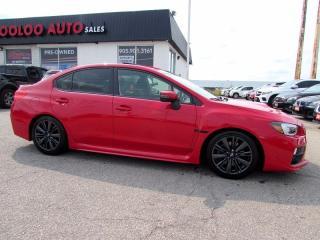Used 2017 Subaru WRX WRX TURBO CAMERA AWD 6 SPD CERTIFIED for sale in Milton, ON