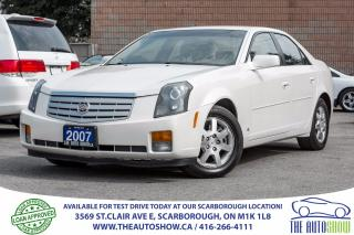 Used 2007 Cadillac CTS 3.6L Leather RearviewCam for sale in Caledon, ON