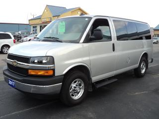 Used 2017 Chevrolet Express 3500 LT  6.0 L Vortec 12 Passenger for sale in Brantford, ON