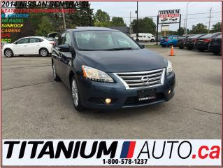 Used 2014 Nissan Sentra SL+GPS+Camera+Sunroof+Leather Heated Seats+XM Radi for sale in London, ON