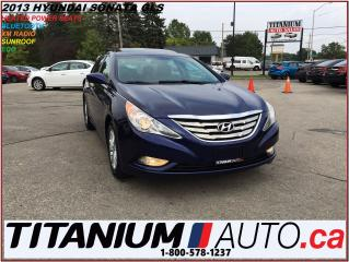 Used 2013 Hyundai Sonata GLS+Sunroof+Heated Power Seats+BlueTooth+XM Radio+ for sale in London, ON