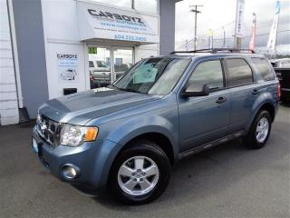 Used 2012 Ford Escape XLT, 5 Speed Manual, No Accidents!! for sale in Langley, BC