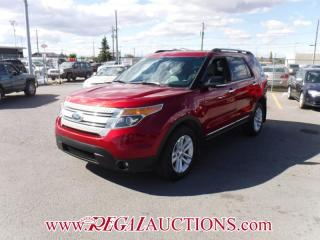 Used 2013 Ford EXPLORER XLT 4D UTILITY 4WD V6 for sale in Calgary, AB