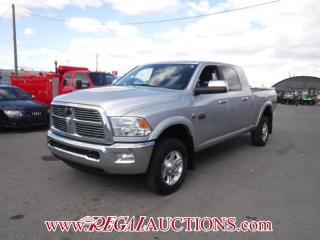 Used 2012 RAM 3500 LARAMIE DIESEL CREW CAB for sale in Calgary, AB