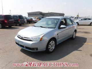 Used 2008 Ford FOCUS SES 4D SEDAN 2.0L for sale in Calgary, AB