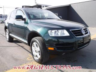 Used 2004 Volkswagen TOUAREG  4D UTILITY 4WD for sale in Calgary, AB