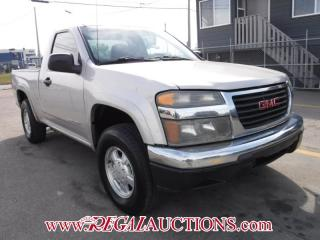 Used 2005 GMC CANYON  REG CAB 4WD for sale in Calgary, AB