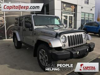 Used 2014 Jeep Wrangler Unlimited Rubicon| Leather| 4X4| CD player for sale in Edmonton, AB