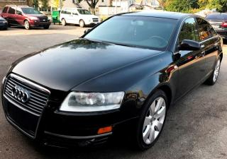 Used 2006 Audi A6 3.2 with Tiptronic for sale in St Catharines, ON