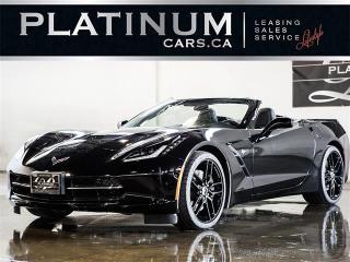 Used 2017 Chevrolet Corvette STINGRAY Z51 PERFORMANCE, 3LT PKG, LPO, NAVI, HUD for sale in North York, ON