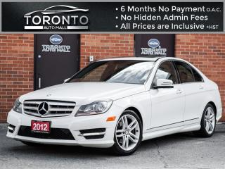 Used 2012 Mercedes-Benz C-Class C250 4MATIC+Navigation+Sunroof+Sport package for sale in North York, ON