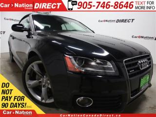 Used 2011 Audi A5 2.0T Premium Plus S-Line| AWD| NAVI| CONVERTIBLE| for sale in Burlington, ON
