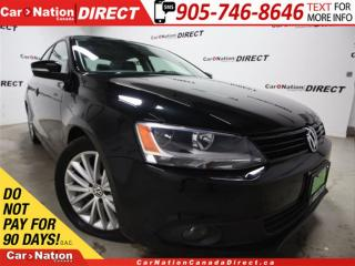 Used 2011 Volkswagen Jetta Comfortline| LOW KM'S| LEATHER| SUNROOF| for sale in Burlington, ON