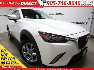 Used 2016 Mazda CX-3 GS| NAVI| AWD| LEATHER| SUNROOF| for sale in Burlington, ON