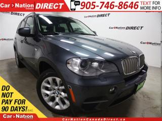 Used 2013 BMW X5 xDrive35d| DIESEL| AWD| PANO ROOF| NAVI| for sale in Burlington, ON