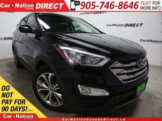 Used 2013 Hyundai Santa Fe Sport 2.0T SE| AWD| LEATHER| PANO ROOF| BACK UP CAM| for sale in Burlington, ON