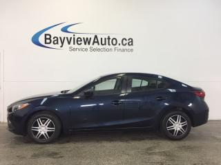 Used 2014 Mazda MAZDA3 GX- AUTO! PUSH BUTTON START! A/C! KEYLESS ENTRY! for sale in Belleville, ON