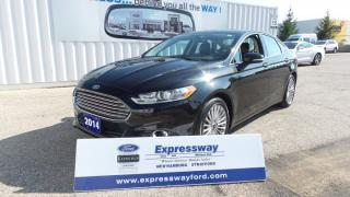 Used 2014 Ford Fusion Titanium for sale in Stratford, ON