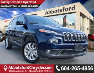 Used 2015 Jeep Cherokee Limited ACCIDENT FREE! for sale in Abbotsford, BC