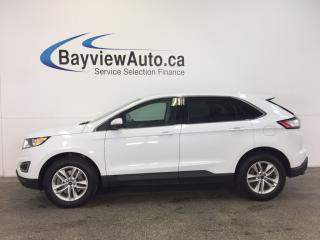Used 2017 Ford Edge SEL- AWD! KEYPAD ENTRY! HTD SEATS! REV CAM! SYNC! for sale in Belleville, ON
