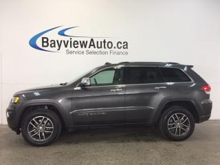 Used 2017 Jeep Grand Cherokee LTD- 4x4! REM STRT! ROOF! HTD LEATHER! REV CAM! for sale in Belleville, ON