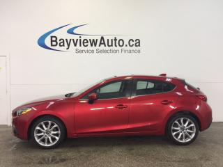 Used 2014 Mazda MAZDA3 - SUNROOF! HTD SEATS! NAV! BLUETOOTH! REV CAM! for sale in Belleville, ON