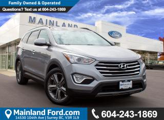 Used 2013 Hyundai Santa Fe XL Limited LOW KMS, LOCAL for sale in Surrey, BC