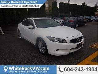 Used 2008 Honda Accord EX-L Leather Interior, Remote Keyless Entry & Power Moonroof for sale in Surrey, BC
