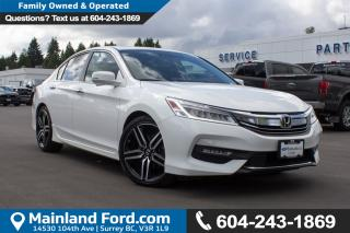Used 2016 Honda Accord Touring LOW KMS, NO ACCIDENTS, LOCAL for sale in Surrey, BC
