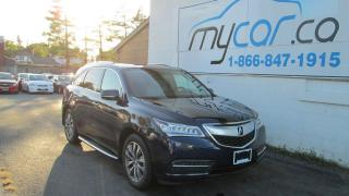 Used 2014 Acura MDX Navigation Package for sale in Richmond, ON