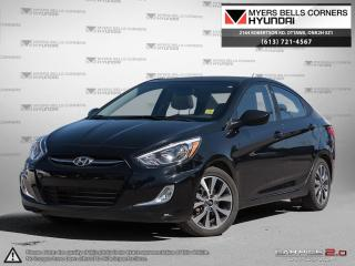 Used 2017 Hyundai Accent for sale in Nepean, ON