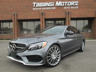 Used 2017 Mercedes-Benz C43 AMG PREMIUM PKG* INTELLIGENT PKG* AMG DRIVERS PKG AND MORE!! for sale in Mississauga, ON