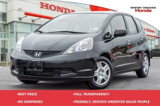 Used 2014 Honda Fit LX (MT) for sale in Whitby, ON