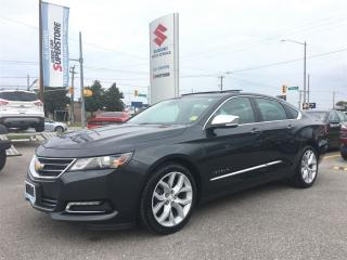 Used 2014 Chevrolet Impala LTZ ~Panoramic Roof ~RearView Camera for sale in Barrie, ON