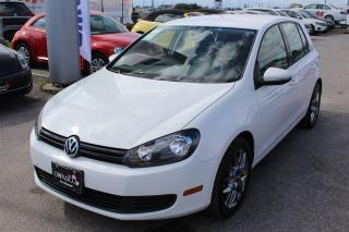 Used 2013 Volkswagen Golf 2.5L Trendline w/ Heated Seats & Cruise Control!! for sale in Whitby, ON
